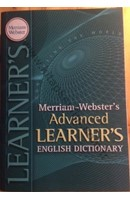 Merriam Webster's Advanced Learner's English Dictionary | Kitap Keyfim