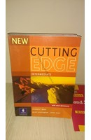 NEW CUTTING EDGE -INTERMEDIATE WITH MINI-DICTIONARY (STUDENTS BOOK  WORKBOOK) | Kitap Keyfim